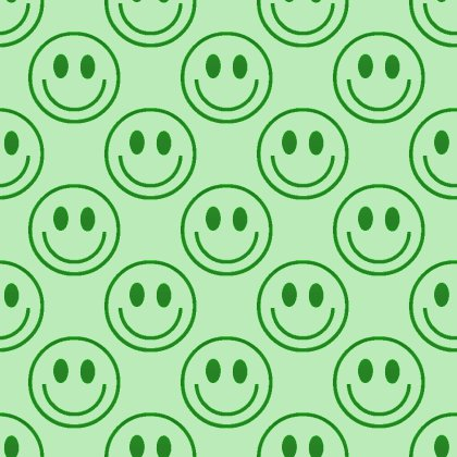 Click to get the codes for this image. Green Smiley Faces Background Seamless, Smiley Faces, Colors  Green Background, wallpaper or texture for Blogger, Wordpress, or any phone, desktop or blog.