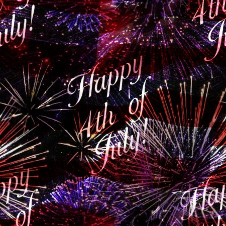 Click to get the codes for this image. Happy 4th Of July Fireworks Flag Background Tiled, Fourth of July,  New Backgrounds, Fireworks Background, wallpaper or texture for, Blogger, Wordpress, or any web page, blog, desktop or phone.
