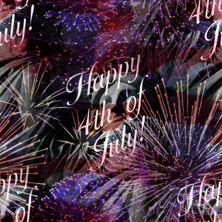 Click to get the codes for this image. Happy 4th Of July Fireworks Flag Statue Of Liberty Background Tiled, Fourth of July,  New Backgrounds, Fireworks Background, wallpaper or texture for, Blogger, Wordpress, or any web page, blog, desktop or phone.