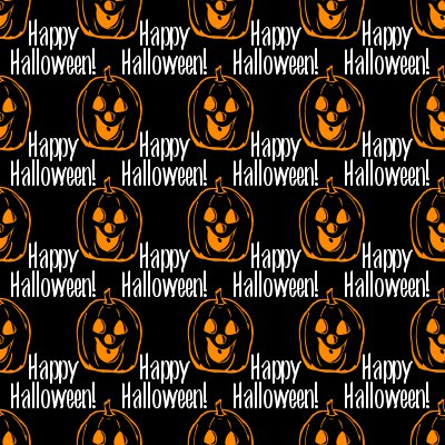 Click to get the codes for this image. Happy Halloween Jack-O-Lanterns Background Seamless, Halloween Background, wallpaper or texture for Blogger, Wordpress, or any phone, desktop or blog.