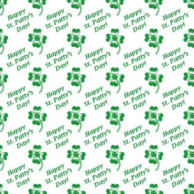 Click to get the codes for this image. Happy St Pattys Day Shamrocks Background Seamless, Saint Patrick's Day Background, wallpaper or texture for Blogger, Wordpress, or any phone, desktop or blog.