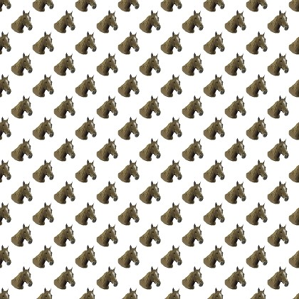 Click to get the codes for this image. Horse Heads On White, Animals  Horses  Hooved Background, wallpaper or texture for any blog, web page, phone or desktop