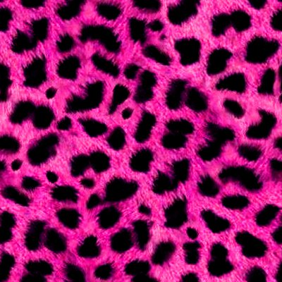 Hot Pink Animal Print Fur Background Seamless