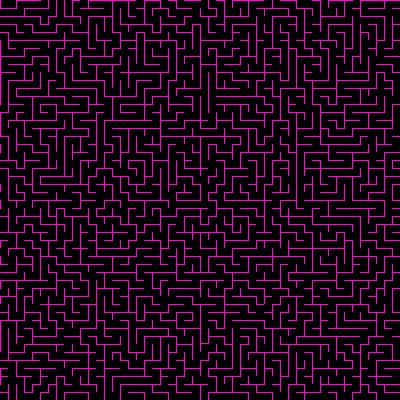 Click to get the codes for this image. Hot Pink Maze On Black Background Seamless, Patterns  Mazes, Colors  Pink Background, wallpaper or texture for Blogger, Wordpress, or any phone, desktop or blog.