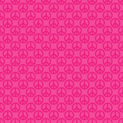 Click to get the codes for this image. Hot Pink Peace Signs Background Seamless, Peace Signs, Colors  Pink Background, wallpaper or texture for Blogger, Wordpress, or any phone, desktop or blog.