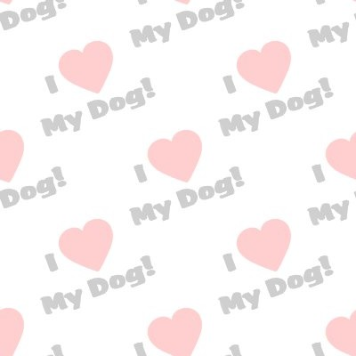 Click to get the codes for this image. I Heart My Dog Seamless Wallpaper Watermark, Animals  Dogs Background, wallpaper or texture for any blog, web page, phone or desktop