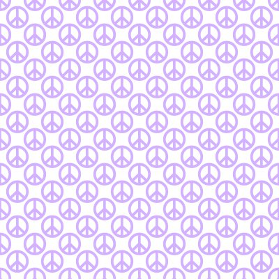 Click to get the codes for this image. Lavender Peace Signs On White Background Seamless, Peace Signs, Colors  Purple Background, wallpaper or texture for Blogger, Wordpress, or any phone, desktop or blog.