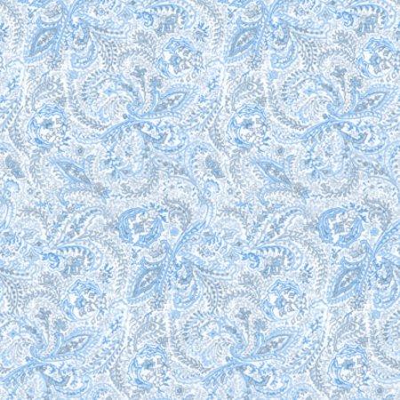 Click to get the codes for this image. Light Blue Paisley Background Seamless, Cloth Patterns, Paisleys, Colors  Blue Background, wallpaper or texture for Blogger, Wordpress, or any phone, desktop or blog.