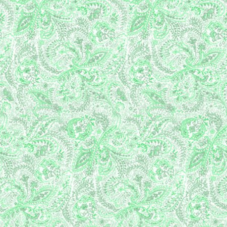 Click to get the codes for this image. Light Green Paisley Background Seamless, Cloth Patterns, Paisleys, Colors  Green Background, wallpaper or texture for Blogger, Wordpress, or any phone, desktop or blog.