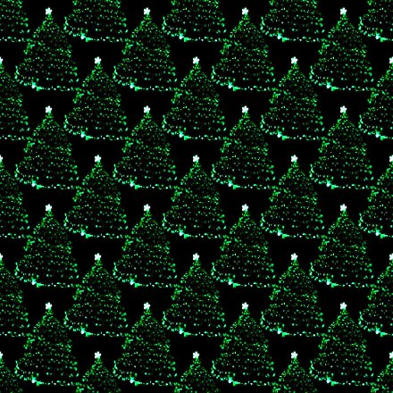 Click to get the codes for this image. Lighted Green Christmas Trees Seamless Wallpaper, Holidays  Christmas Background, wallpaper or texture for Blogger, Wordpress, or any phone, desktop or blog.