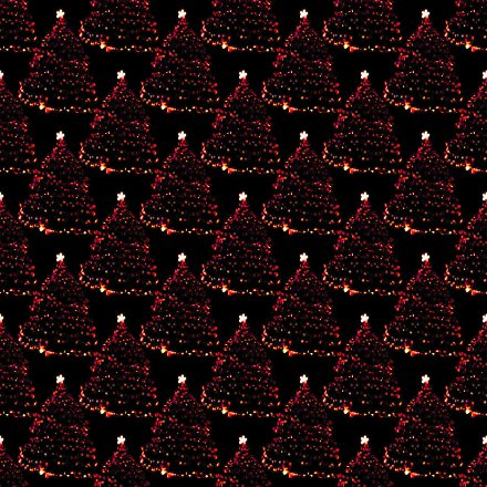 Click to get the codes for this image. Lighted Red Christmas Trees Seamless Wallpaper, Holidays  Christmas Background, wallpaper or texture for Blogger, Wordpress, or any phone, desktop or blog.