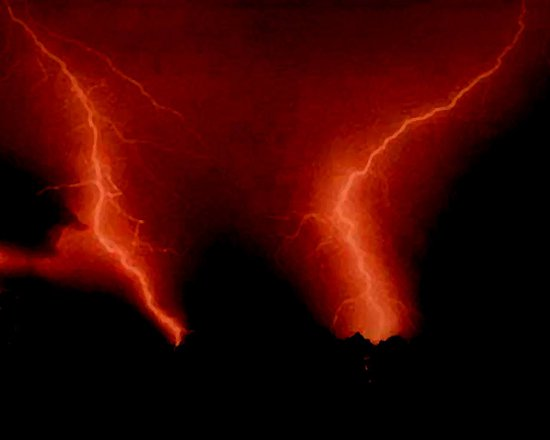 Click to get the codes for this image. Lightening Painting, Nature Landscapes  Scenery Background, wallpaper or texture for any blog, web page, phone or desktop
