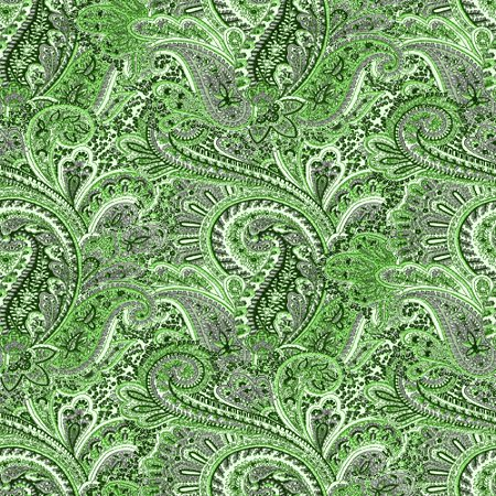 Click to get the codes for this image. Lime Green Paisley Pattern Background Seamless, Cloth Patterns, Paisleys, Colors  Green Background, wallpaper or texture for Blogger, Wordpress, or any phone, desktop or blog.