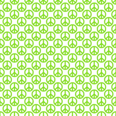 Lime green peace signs on white background seamless - Lime green and white wallpaper ...
