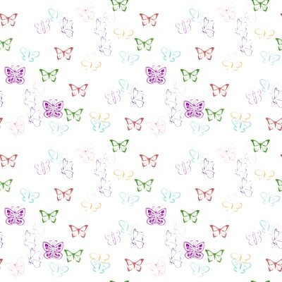 Click to get the codes for this image. Little Butterflies On White, Butterflies Background, wallpaper or texture for any blog, web page, phone or desktop