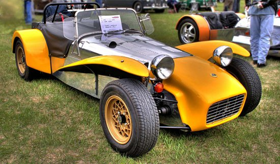 Click to get the codes for this image. Lotus Super Seven 1970, Cars Boats Trains etc Background, wallpaper or texture for any blog, web page, phone or desktop