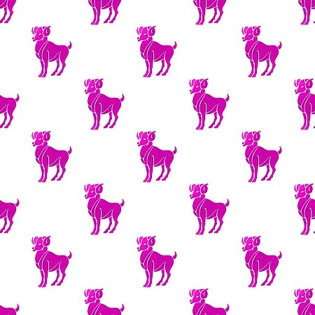 Click to get the codes for this image. Magenta Aries On White, Astrology  Zodiac Symbols Background, wallpaper or texture for, Blogger, Wordpress, or any web page, blog, desktop or phone.