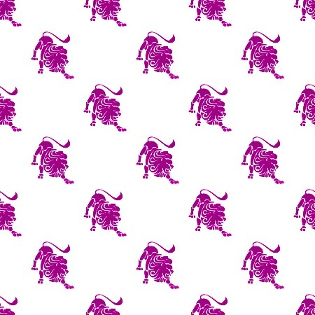 Click to get the codes for this image. Magenta Leo Astrology On White, Astrology  Zodiac Symbols Background, wallpaper or texture for, Blogger, Wordpress, or any web page, blog, desktop or phone.