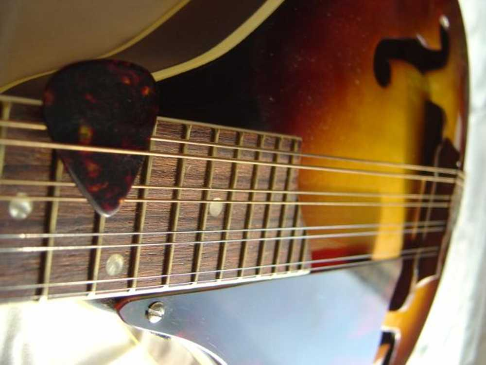 Click to get the codes for this image. Mandolin Side View Closeup, Music and Musical Instruments Background, wallpaper or texture for any blog, web page, phone or desktop