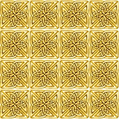 Click to get the codes for this image. Marigold Celtic Squares Seamless Background Pattern, Patterns  Celtic, Colors  Yellow and Gold, Ornate Background, wallpaper or texture for, Blogger, Wordpress, or any web page, blog, desktop or phone.