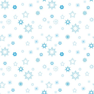 Click to get the codes for this image. Mini Blue Snowflakes On White, Seasons  Winter, Snowflakes Background, wallpaper or texture for Blogger, Wordpress, or any phone, desktop or blog.
