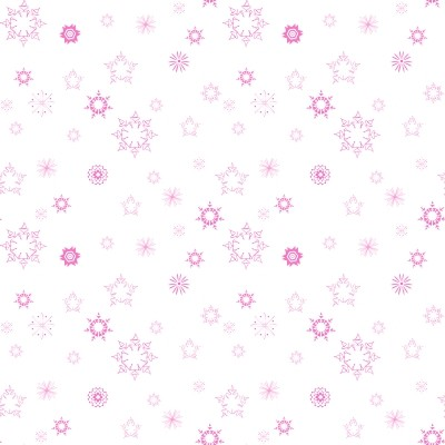 Click to get the codes for this image. Mini Pink Snowflakes On White, Snowflakes, Colors  Pink, Seasons  Winter Background, wallpaper or texture for Blogger, Wordpress, or any phone, desktop or blog.