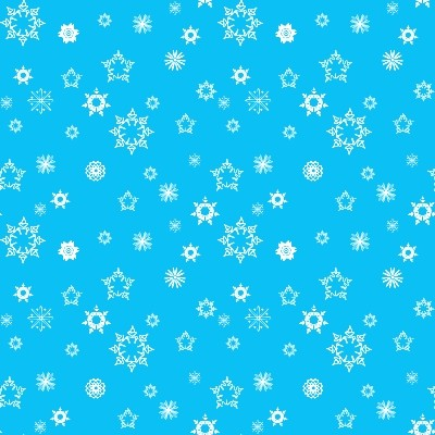 Click to get the codes for this image. Mini White Snowflakes On Blue, Snowflakes, Colors  Blue, Seasons  Winter Background, wallpaper or texture for Blogger, Wordpress, or any phone, desktop or blog.