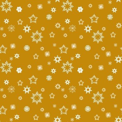 Click to get the codes for this image. Mini White Snowflakes On Gold, Seasons  Winter, Snowflakes, Colors  Yellow and Gold Background, wallpaper or texture for Blogger, Wordpress, or any phone, desktop or blog.