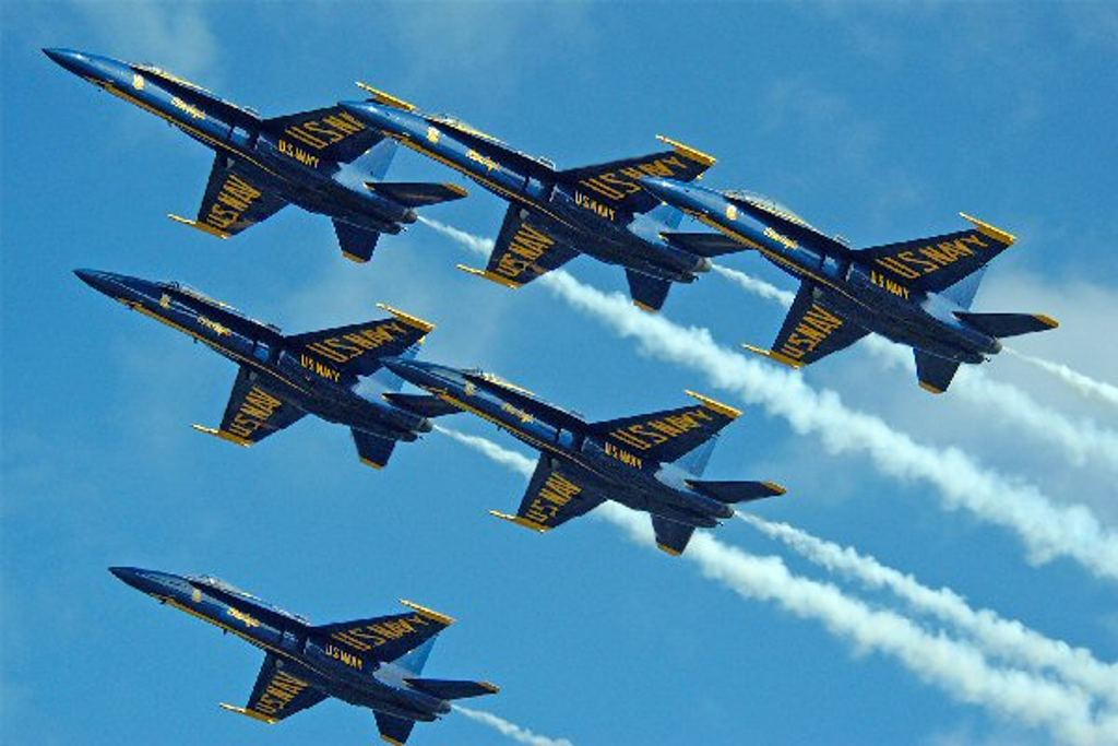 Click to get the codes for this image. Navy Blue Angels Flying In Formation, Airplanes  Rockets, Army Military  Camouflage Background, wallpaper or texture for, Blogger, Wordpress, or any web page, blog, desktop or phone.
