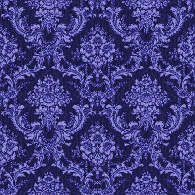 navy blue ornate floral wallpaper tileable