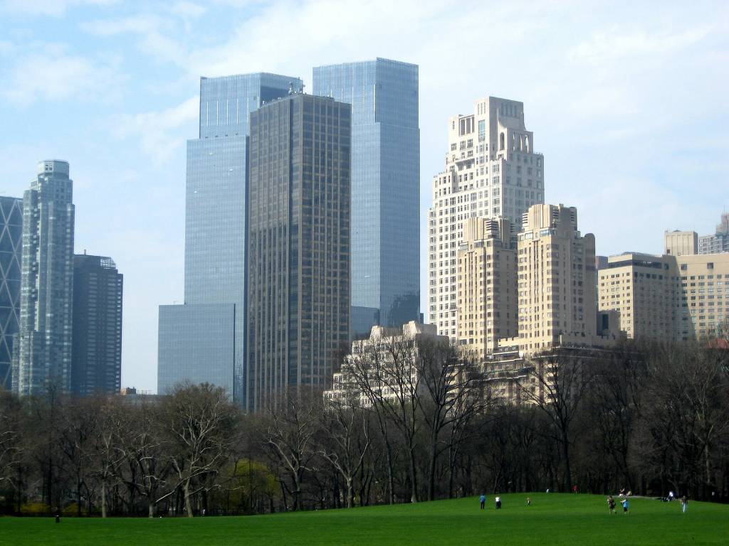 Click to get the codes for this image. New York City From Central Park, Cities  Buildings Background, wallpaper or texture for, Blogger, Wordpress, or any web page, blog, desktop or phone.