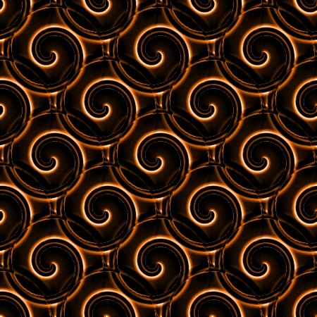 Click to get the codes for this image. Orange And Black Spirals, Patterns  Spirals and Swirls, Colors  Orange Background, wallpaper or texture for Blogger, Wordpress, or any phone, desktop or blog.