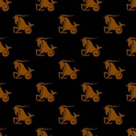 Click to get the codes for this image. Orange Capricorn Astrology On Black, Astrology  Zodiac Symbols Background, wallpaper or texture for, Blogger, Wordpress, or any web page, blog, desktop or phone.