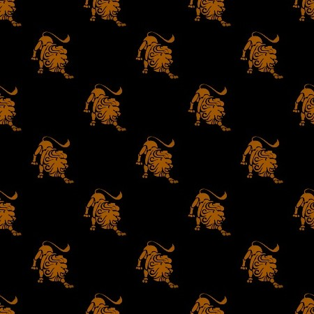Click to get the codes for this image. Orange Leo Astrology On Black, Astrology  Zodiac Symbols Background, wallpaper or texture for, Blogger, Wordpress, or any web page, blog, desktop or phone.