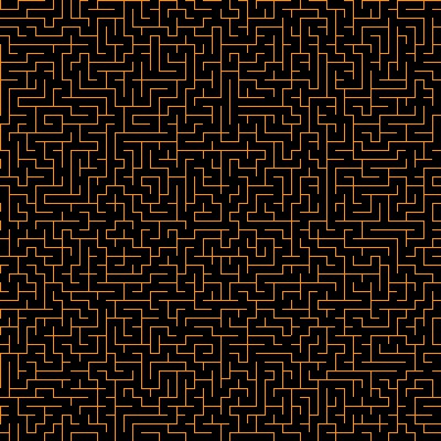Click to get the codes for this image. Orange Maze On Black Background Seamless, Patterns  Mazes, Colors  Orange Background, wallpaper or texture for Blogger, Wordpress, or any phone, desktop or blog.