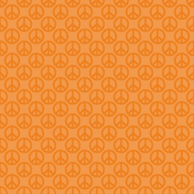 Click to get the codes for this image. Orange Peace Signs Background Seamless, Peace Signs, Colors  Orange Background, wallpaper or texture for Blogger, Wordpress, or any phone, desktop or blog.