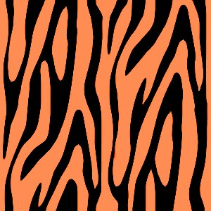 Click to get the codes for this image. Orange Zebra Print, Animal Print, Colors  Orange Background, wallpaper or texture for, Blogger, Wordpress, or any web page, blog, desktop or phone.