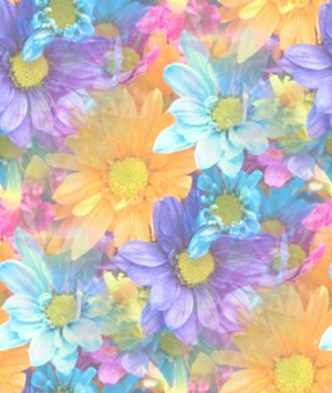 Click to get the codes for this image. Pastel Daisies, Flowers  Floral Designs, Seasons  Spring Background, wallpaper or texture for Blogger, Wordpress, or any phone, desktop or blog.