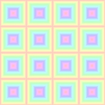 Click to get the codes for this image. Pastel Rainbow Squares, Patterns  Diamonds and Squares, Colors  Pastels Background, wallpaper or texture for Blogger, Wordpress, or any phone, desktop or blog.