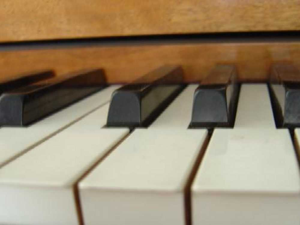 Click to get the codes for this image. Piano Keys Closeup, Music and Musical Instruments Background, wallpaper or texture for any blog, web page, phone or desktop