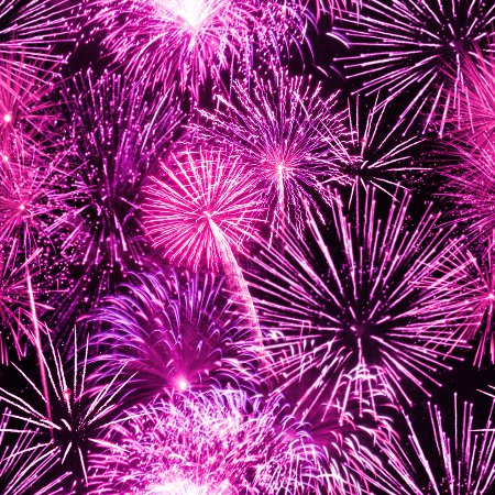 Click to get the codes for this image. Pink Fireworks Tiled Background, Fourth of July, Holidays  New Years,  New Backgrounds, Fireworks, Colors  Pink Background, wallpaper or texture for, Blogger, Wordpress, or any web page, blog, desktop or phone.