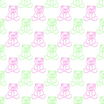 Click to get the codes for this image. Pink And Green Baby Teddy Bears Background Seamless, Babies  Maternity, Teddy Bears Background, wallpaper or texture for any blog, web page, phone or desktop