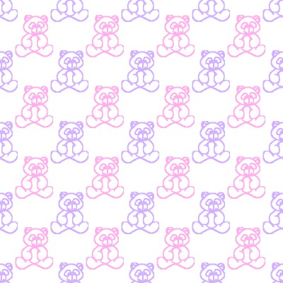 Click to get the codes for this image. Pink And Purple Baby Teddy Bears Background Seamless, Babies  Maternity, Teddy Bears Background, wallpaper or texture for any blog, web page, phone or desktop