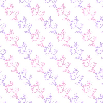 Click to get the codes for this image. Pink And Purple Storks With Babies Background Seamless, Babies  Maternity Background, wallpaper or texture for any blog, web page, phone or desktop