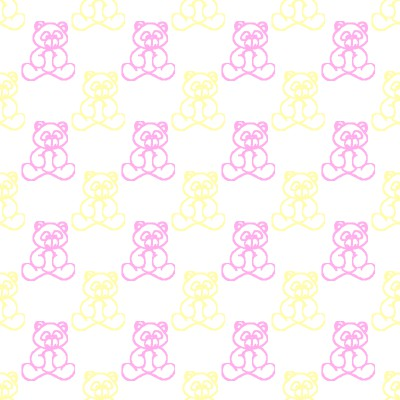 Click to get the codes for this image. Pink And Yellow Baby Teddy Bears Background Seamless, Babies  Maternity, Teddy Bears Background, wallpaper or texture for any blog, web page, phone or desktop