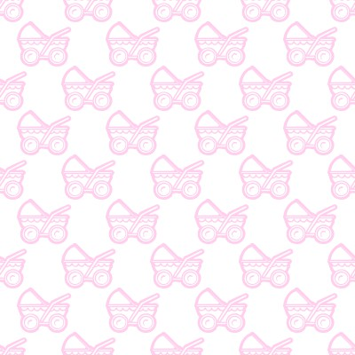 Click to get the codes for this image. Pink Baby Strollers Background Seamless, Babies  Maternity Background, wallpaper or texture for any blog, web page, phone or desktop