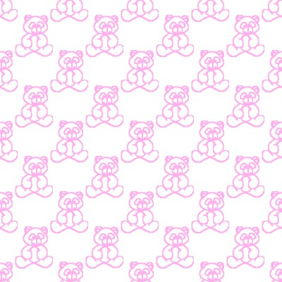 Click to get the codes for this image. Pink Baby Teddy Bears Background Seamless, Babies  Maternity, Teddy Bears Background, wallpaper or texture for any blog, web page, phone or desktop