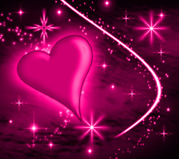 Click to get the codes for this image. Pink Heart With Plasma Stars Background 1800x1600, Hearts, Colors  Pink Background, wallpaper or texture for, Blogger, Wordpress, or any web page, blog, desktop or phone.
