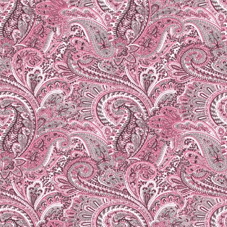 Click to get the codes for this image. Pink Paisley Pattern Background Seamless, Cloth Patterns, Paisleys, Colors  Pink Background, wallpaper or texture for Blogger, Wordpress, or any phone, desktop or blog.