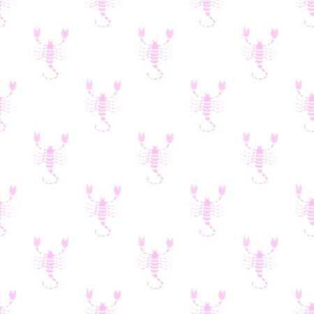 Click to get the codes for this image. Pink Scorpio Astrology Watermark On White, Astrology  Zodiac Symbols Background, wallpaper or texture for, Blogger, Wordpress, or any web page, blog, desktop or phone.